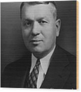 Harold Urey, American Chemist Wood Print