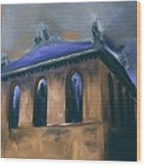 Harold Washington Library 539 2 Wood Print