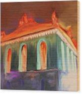 Harold Washington Library 539 4 Wood Print