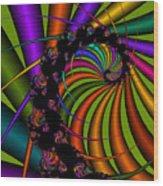 Harp 112 Wood Print
