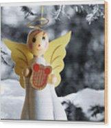 Harp The Herald Angels Sing Wood Print