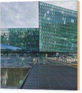 Harpa Concert Hall - Iceland Wood Print