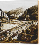 Harpers Ferry Wood Print by Bill Cannon