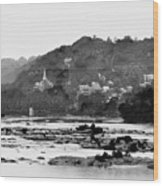 Harper's Ferry From Across The Potomac Wood Print