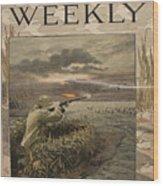 Harper's Weekly. Sportsman's Number Wood Print