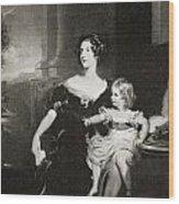 Harriet, Duchess Of Wood Print