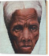 Harriet Tubman, African-american Wood Print by Photo Researchers
