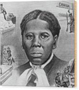 Harriet Tubman Wood Print by Curtis James