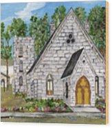 Harrisena Church Wood Print