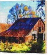 Harrison Barn Wood Print