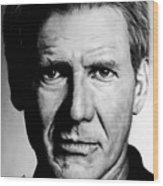 Harrison Ford Wood Print