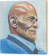 Harry Belafonte Wood Print