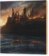Harry Potter And The Deathly Hallows Part I 2010  Wood Print