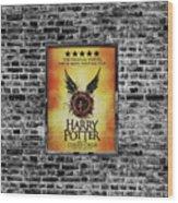 Harry Potter London Theatre Poster Wood Print