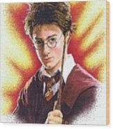 Harry Potter The Wizard Wood Print
