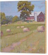 Hartville, Ohio Farm Wood Print