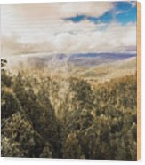 Hartz Mountains To Wellington Range Wood Print