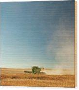 Harvest Cloud Wood Print
