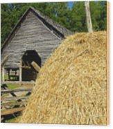 Harvest Wood Print