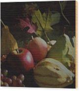 Harvest II Wood Print
