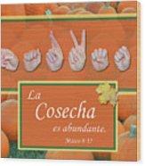 Harvest Spanish Wood Print