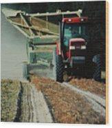 Harvest Time Wood Print