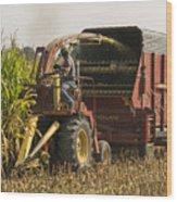 Harvesting Wood Print
