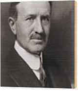 Harvey Firestone 1868-1938, Founded Wood Print by Everett