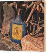 Harvey's Cowboy Gear Wood Print