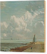 Harwich - The Low Lighthouse And Beacon Hill Wood Print