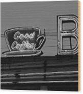 Hasbrouck Heights, Nj - Bendix Diner Wood Print