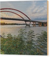Hastings Mn Bridge Wood Print
