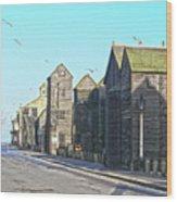 Hastings Net Lofts Wood Print