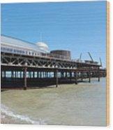 Hastings Pier, East Sussex Wood Print