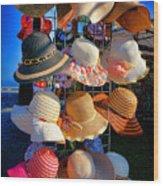 Hat Rack Wood Print