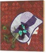 Hat Trick Wood Print