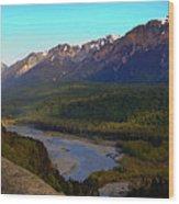 Hatcher's Pass Alaska Wood Print