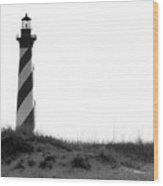 Hatteras Light  Wood Print