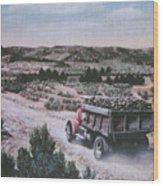 Hauling Uranium Ore 1952 Wood Print