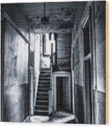 Haunted Hallway Wood Print