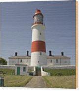 Haunted Lighthouse. Wood Print