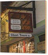 Haunted St. Augustine Wood Print