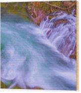 Torrent Waterfall 2 Wood Print