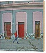 Havana-54 Wood Print