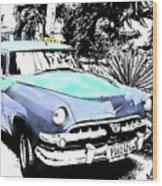 Havana Blues Wood Print