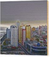 Havana Dawn Wood Print