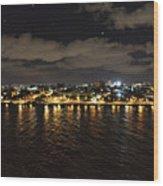 Havana Nights Wood Print