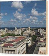 Havana Rooftops Wood Print