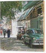 Havana Streets 1 Wood Print