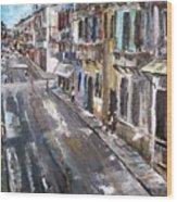 Havana Wood Print by Travis Kelley